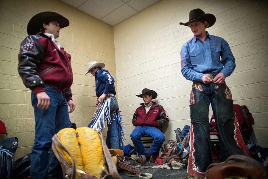 Saddle Bronc Rodeo