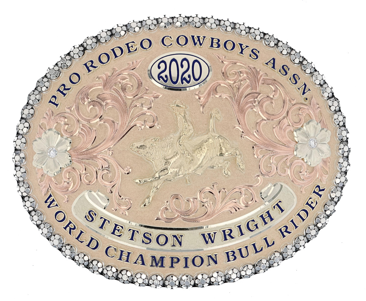 Winner Gold Buckle