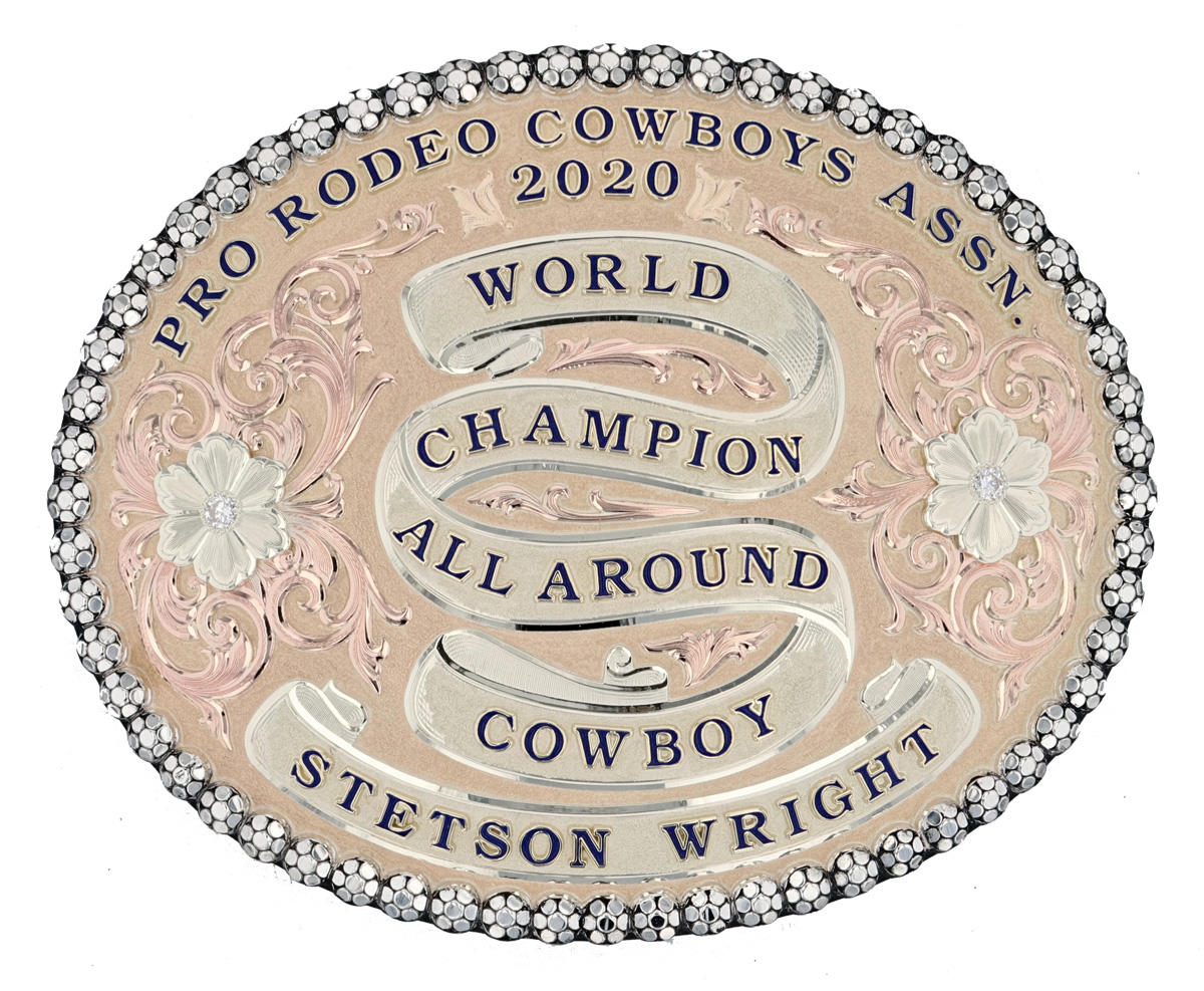 Stetson Wright Buckle