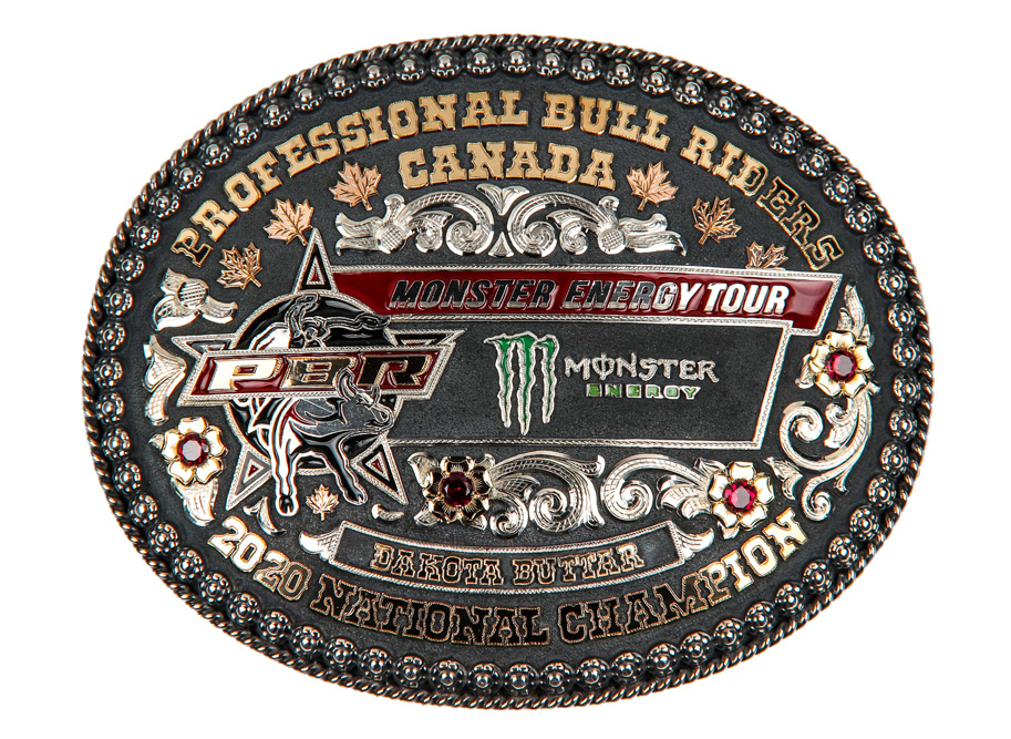 2020 - Dakota Buttar buckle